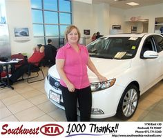 #HappyBirthday to Lisa Page from Steven Kravetz at Southwest KIA Rockwall!