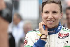 Simona de Silvestro, headed back to F-1, she will be missed here.