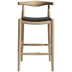 The Wegner Style Elbow Bar Stool Chair is a high quality inspired reproduction in the style of the original design. The Wegner Elbow Chair clearly illustrates Wegner's unique understanding of wood and its possibilities. Buy Bar Stools, Bar Stool Chairs, Modern Bar Stools, Kitchen Stools, Room Chairs, Dining Chairs, Office Chairs, Wood Bar Stools, Lounge Chairs