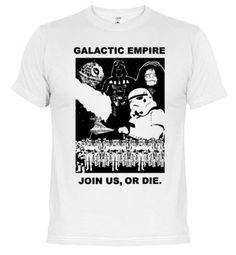 Camisetas IMPERIO GALACTICO