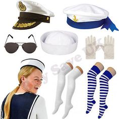 Sailor navy #naval fancy #dress costume #accessories ladies mens hen stag night,  View more on the LINK: http://www.zeppy.io/product/gb/2/172314111226/