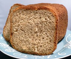 I am not a huge fan of whole wheat bread but this one doesnt taste like your typical whole wheat bread. This makes a 2 pound loaf. I use King Arthur Flour (all-purpose) in my machine - not bread flour - and it comes out perfect for all the doughs I make. I guessed on baking time since its different depending on how you bake it.