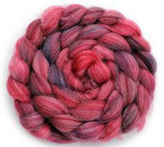 Panda Roving (Superwash Merino Wool, Nylon and Bamboo Fiber) - Hand Dyed Spinning Fiber - 3.5oz/ 113g on Etsy, $21.65 AUD