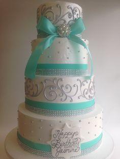 63 Ideas Birthday Cake Ideas For Adults Women Buttercream Frosting - Birthday Cake Blue Ideen Elegant Birthday Cakes, Birthday Cakes For Men, Birthday Cake Ideas For Adults Women, Birthday Cake For Women Elegant, Birthday Cake For Husband, Cake Birthday, Birthday Ideas, 55th Birthday, Happy Birthday