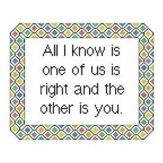 Funny Cross Stitch Pattern - Counted Cross Stitch Pattern PDF Instant Download…