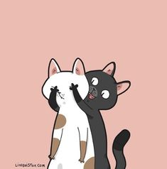 Ideas cats cartoon wallpaper kittens for 2019 Cartoon Wallpaper, Cat Wallpaper, Cat Sketch, Photo Chat, Cartoon Sketches, Watercolor Cat, Funny Cartoons, Funny Comics, Cat Drawing
