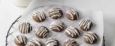 These decadent little chocolate gems are a great treat for the middle of the week. Kids and adults alike will go hunting for seconds, so keep them well hidden.