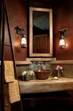 20 rustic bathroom designs - The Grey Home