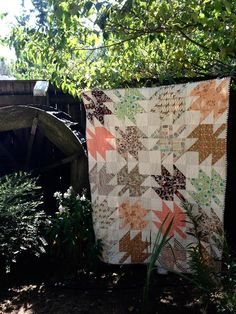 Modern Maples Quilt by Tricia.