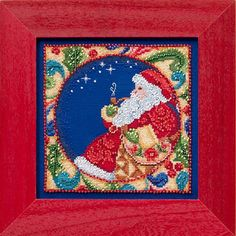 Jim Shore by Mill Hill  Santa JS304102 Christmas by DebiCreations, $15.49