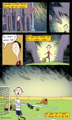 Andres Iniesta Cartoon by Dan Leydon