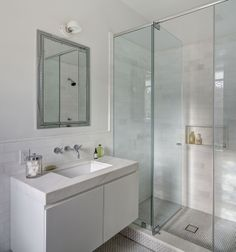 Bathroom - Park Slope Rowhouse Renovation | BARKER FREEMAN DESIGN OFFICE | Archinect