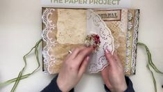 PAGE BY PAGE VIDEO - A gift from my friend Reem - PaperPixie