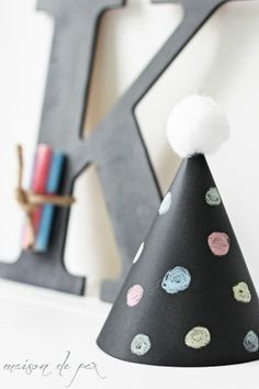 mommo design: CHALKBOARD PARTY - hat