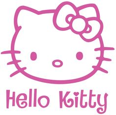 Free Hello Kitty SVG File Download