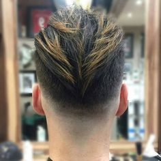 Long Brush Back + Low Skin Fade