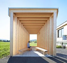 hufton+crow documents project: BUS:STOP by wang shu + lu wenyu in krumbach, austria
