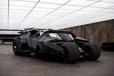 The Tumbler because you know everyone has that dream car