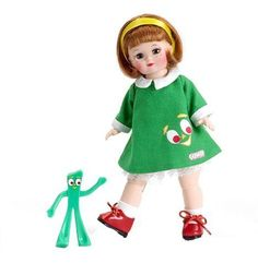 Maggie Loves Gumby, 8'' Madame Alexander Doll, Our Only One #MadameAlexander