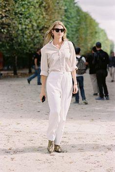 Vanessa Jackman: Paris Fashion Week SS 2017....Laura