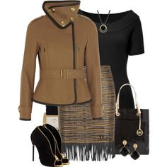 """Off to work ..."" by mrsbro on Polyvore"