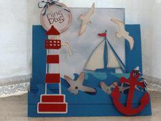 """Cricut """"Life is a Beach"""" - lighthouse, sailboat, anchor, starfish, seagull"""