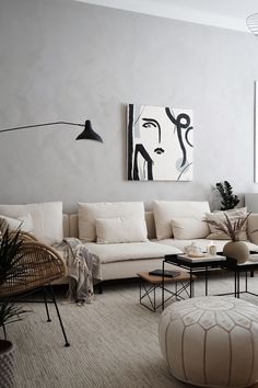 Recamier: know what it is and how to use it in decoration with 60 ideas - Home Fashion Trend Living Room Sofa, Living Room Interior, Home Living Room, Living Room Furniture, Living Room Designs, Living Room Decor, Ikea Furniture, Metal Furniture, Söderhamn Sofa