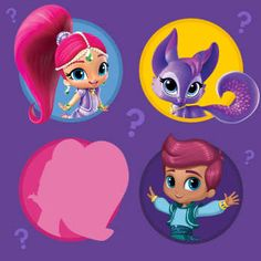 Join Shimmer Shine Leah And Dalia As They Save Zeta From A Big
