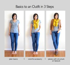 Putting Me Together: Plain Basics to an Outfit #2