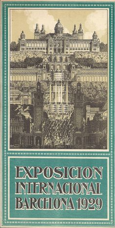 #arxiu #guia #expo1929 #Barcelona