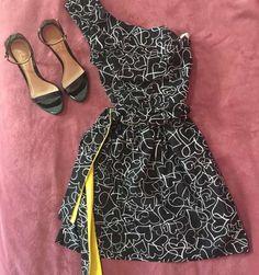vestido de um ombro só  - vestidos dressto para c&a