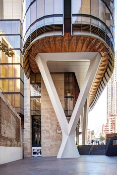 Image 1 of 28 from gallery of Tower of Wood: The EY Centre / fjmt. Photograph by Brett Boardman