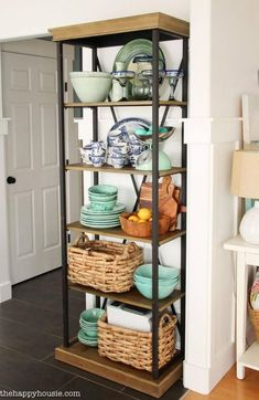 Dining Room Shelves Ideas Lovely 32 Best Dining Room Storage Ideas and Designs for 2020 Dining Room Shelves, Dining Room Furniture Sets, Dining Room Sets, Kitchen Shelves, Dining Room Design, Kitchen Storage, Dining Decor, Coastal Furniture, Kitchen Decor