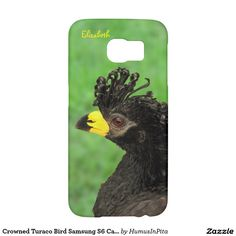 Crowned Turaco Bird Samsung S6 Case Samsung Galaxy S6 Cases