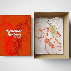 Limited Edition High Nelly Bicycle T-Shirt from Rebellion Sixteen Irish Design, Cool Tees, Screen Printing, Bicycle, Gift Wrapping, Graphic Design, Packaging Design, Illustration, Instagram Posts