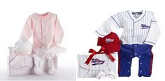 Baby ballerina and baby baseball player outfits! Halloween costume or fun dress up! Baby Aspen $30
