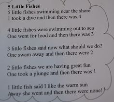 From The Hive: F fish day- preschool style