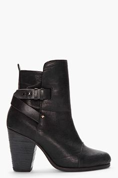 Rag  Bone - Black Kinsey Boots http://www.ssense.com/women/product/rag_and_bone/black_kinsey_boots/63282