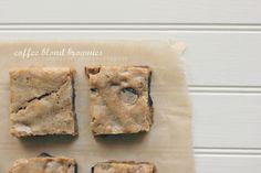 coffee blond brownies | the vanilla bean blog
