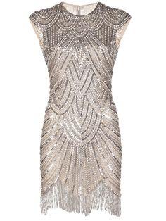 Naeem Khan Embellished Fringe Dress - Marissa Collections - Farfetch.com