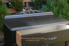 El dormitorio de Ana – Albentosa Muebles Reciclados Recycled Furniture, Outdoor Furniture, Outdoor Decor, Chalk Paint, Recycling, Diy, Painting, Households, Design