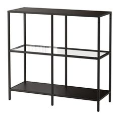 "VITTSJÖ Shelving unit, black-brown,white,glass 39 3/8x36 5/8, ikea.com,VITTSJÖ, Shelving unit, black-brown or WHITE-COLLAR RED (COULD SPRAY PAINT), glass shelves, 39 3/8x36 5/8 "" $59.00"