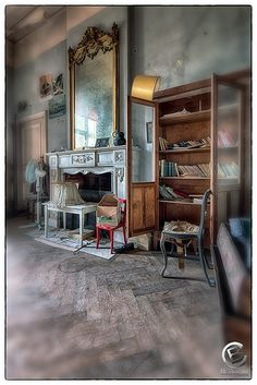 Château_de_la_Forêt_35 by F.T.Aiello, via Flickr abandoned