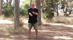 Tai Chi qigong circling hands, a practice that stretches and opens the physical body, as well as activating the circular energy pathways in the body through circular motion.