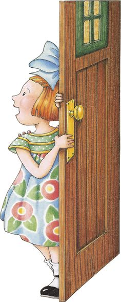 :) Mary Englebreit, I heard knocking but no one is there.