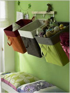 Coisas de Casa e Tal...: 10 Organizadores com caixas de papelão