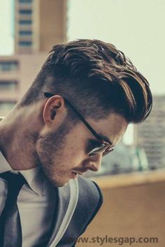 Men Best Hairstyles Latest Trends of Hair Styling & Haircuts 2016-2017 #Coolmen'shairstyles