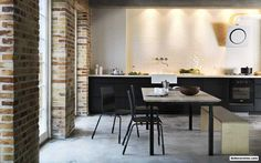 Mad About… Black Kitchens - http://www.dedecoration.com/interior-home-design/mad-about-black-kitchens.html