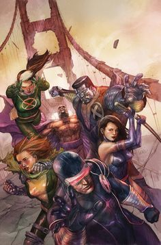 X-Men Legacy #242 Cover Art by Leinil Francis Yu #Comics #Illustration #Drawing