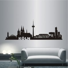 details zu k ln autoaufkleber autotattoo autosticker aufkleber skyline auto sticker a116c. Black Bedroom Furniture Sets. Home Design Ideas